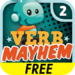Verb Mayhem HD Level 2 FREE