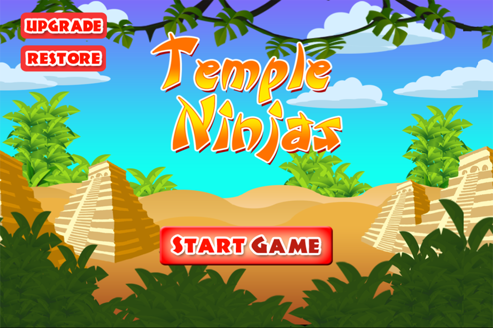 A Temple Ninja Race - Pro Adventure Game